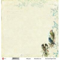 Бумага для скрапбукинга 30.5*30.5 см №30