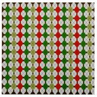 Бумага для скрапбукинга 30.5*30.5 см Ромбы