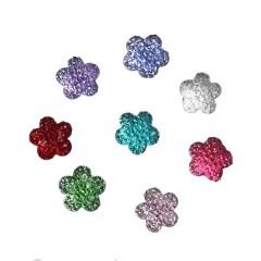 Кабошон цветок 11 мм микс 5 шт