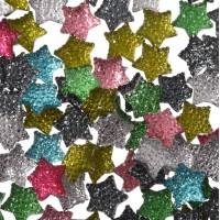 Кабошоны звёзды 11*11 мм микс 5 шт