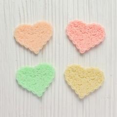 Мини-декор Сердце 3 см