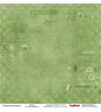 Лист двусторонней бумаги 30*30 см из коллекции Итальянские каникулы от ScrapBerry's