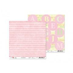 Лист двусторонней бумаги 30x30 от ROSA из коллекции First memories 5