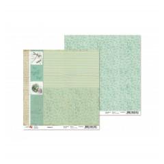 Лист двусторонней бумаги 30x30 от ROSA из коллекции  Nature