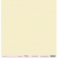 Лист односторонней бумаги 30x30 от Scrapmir Шеврончик из коллекции Наша Малышка