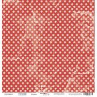Лист односторонней бумаги 30x30 от Scrapmir Штурвал из коллекции Море