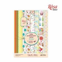 Набор бумаги «Birthday» А4 (21 *29,7 см) от ROSA