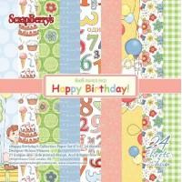 Набор С Днем рождения! 15*15 см от ScrapBerry's