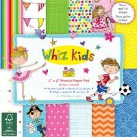 Набор бумаги Whiz Kids, 15 × 15 см, Rachel Ellen