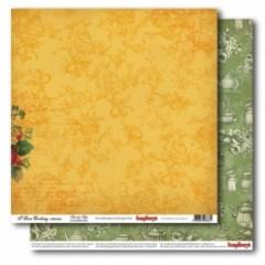 Лист двусторонней бумаги 30*30 см из коллекции Готовим дома от ScrapBerry's