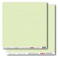 Лист двусторонней бумаги 30*30 см из коллекции Симпл от ScrapBerry's