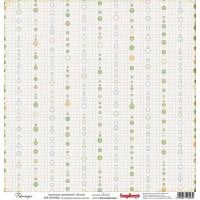Лист односторонней бумаги 30*30 см из коллекции Забава от ScrapBerry's