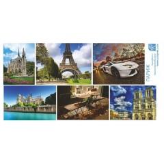 Картинки Париж 30*15 см