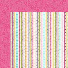 Лист двусторонней бумаги 30*30 см из коллекциии Celebrate, Birthday Girl от Bella BLVD