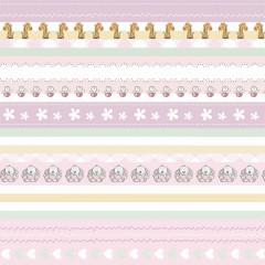 Лист односторонней бумаги 30*30 см из коллекции  Baby Shower