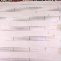 """Лист односторонней бумаги 30x30 см из коллекции """" Flea Market"""" от Crate Paper"""