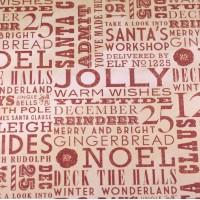 """Лист односторонней бумаги 30x30 см из коллекции """"North Pole"""" от Dovecraft"""