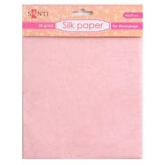 Шелковая бумага, персиковая, 50*70 см