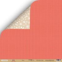 Лист двусторонней бумаги 30x30 от Scrapmir Плед из коллекции Hello Christmas