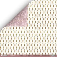 Лист двусторонней бумаги 30x30 от Scrapmir Стрелы из коллекции Unicorns