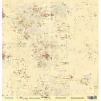 Лист односторонней бумаги 30x30 от Scrapmir Цветочный фон из коллекции Корица