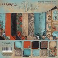 Набор двусторонней бумаги 20х20см от Scrapmir Time to Dream (eng.) 10 листов