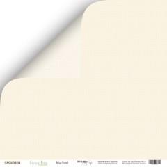Лист двусторонней бумаги 30x30 от Scrapmir Beige Pastel из коллекции Every Day