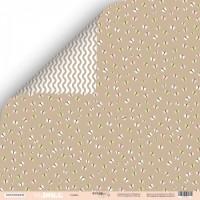 Лист двусторонней бумаги 30x30 от Scrapmir Cuties из коллекции Doll Baby