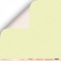 Лист двусторонней бумаги 30x30 от Scrapmir Doll из коллекции Doll Baby