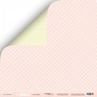 Лист двусторонней бумаги 30x30 от Scrapmir Lovely Baby из коллекции Doll Baby