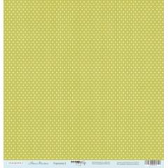 Лист односторонней бумаги 30x30 от Scrapmir Горошки 2 из коллекции Наш Малыш