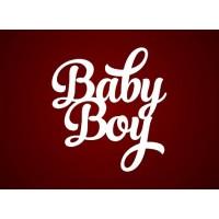 """Чипборд """"Baby Boy"""""""