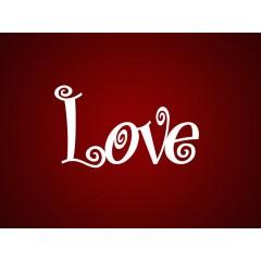"""Чипборд """"Love"""""""