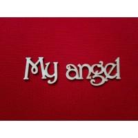 """Чипборд """"My angel"""""""
