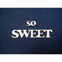 """Чипборд """"So Sweet"""""""