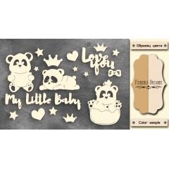 """НАБОР ЧИПБОРДОВ """"MY LITTLE BABY GIRL-1"""""""