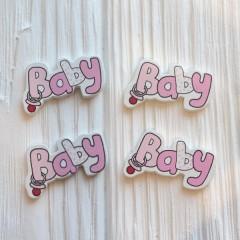Baby розовый 3,5*2,2 см