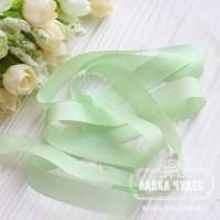 Шебби - лента 14 мм Mint Leaf № 8 (цена за 1 ярд)