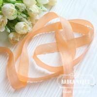 Шебби - лента 14 мм Peach № 3 (цена за 1 ярд)