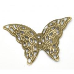 Ажурная бабочка бронзовая 41*29 мм