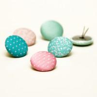 Брадсы тканевые Cupcake Boutique 6 шт
