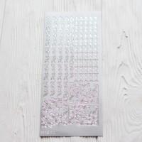 Контурная наклейка с металлическим эффектом 10 * 23 см Узор 2