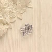 Штамп Бабочка на цветочке