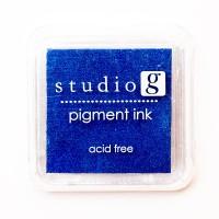 Штемпельная подушечка Blue, Studio G