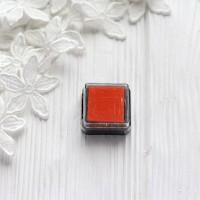Штемпельная подушечка Heyda, 2.5*2.5см оранжевая