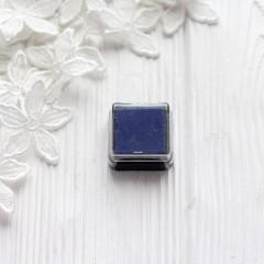 Штемпельная подушечка Heyda, 2.5*2.5см синяя