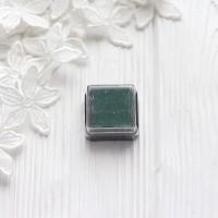 Штемпельная подушечка Heyda, 2.5*2.5см тёмно-зелёная