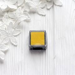 Штемпельная подушечка Heyda, 2.5*2.5см жёлтая