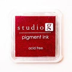 Штемпельная подушечка Red, Studio G