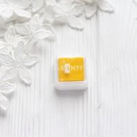 Штемпельная подушечка Santi, 2.5*2.5см жёлтая